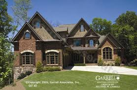 House Plans Traditional Garrell Associates Inc Carolmont Manor House Plan 05140 Front