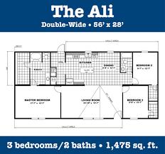 2 Bedroom Double Wide Floor Plans 100 3 Bedroom Double Wide Floor Plans Mobile Home Designs