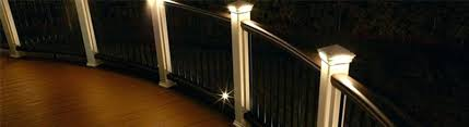 low voltage vinyl fence post lights low voltage post lights best of low voltage deck post lights or low