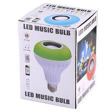 bluetooth music light bulb 12w usb charging smart wireless bluetooth speaker music playing