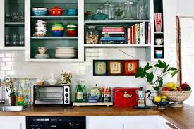 remove kitchen cabinet doors for open shelving inspiration friday kitchen cabinets apartment envy