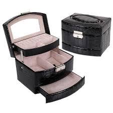 Makeup Box ultimate jewelry and makeup box organizer unicorn makeup brush