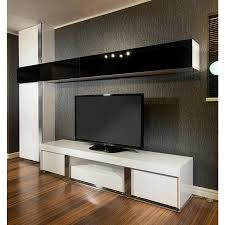 Glass Tv Cabinets With Doors by Large Television Cabinet Entertainment Unit Centre White Gloss 2 2