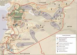 Map Of Syria And Russia Russia U0027s Surgical Strikes In Syria 80 Military Targets Including