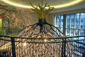 Tree Chandelier Sirshasana Sculpture By Donald Lipski Grand Central Station Nyc