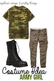 Army Halloween Costumes Easy College Halloween Costume Ideas