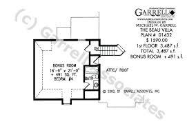 Accessible House Plans Beau Villa House Plan Active House Plans