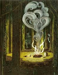 a hobbit u0027s haiku poem by sarah chenoweth mythic poetry series