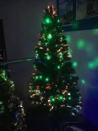 new fibre optics lit christmas tree decorative accessories