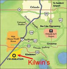 Orlando Map Store by Kilwins Celebration Kilwins