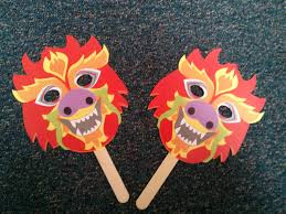 dragon masks for chinese new year storytime the librarian is on