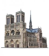 notre dame wrapping paper innovative 3d puzzles by clever paper notre dame de