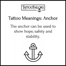 what do anchor tattoos symbolize 2017 quora