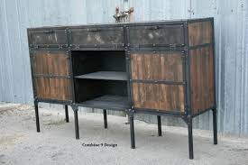 buy a custom buffet hutch vintage industrial mid century modern