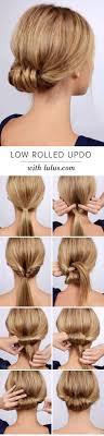 Hochsteckfrisurenen Zum Selber Machen F Schulterlanges Haar by Festliche Frisuren Lange Haare Selber Machen Einfache Frisuren