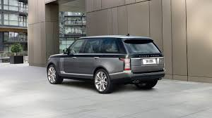 black chrome range rover range rover sv autobiography luxury suv land rover