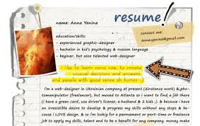 Examples Of Creative Resumes by Creative Writer Resume