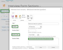 how to design interview form template lanteria