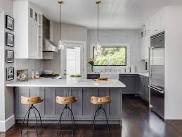 grey kitchen cabinets with white countertop 20 fabulous kitchens featuring grey kitchen cabinets the