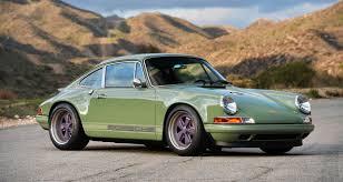 porsche 911 olive green porsche 911 u0027brooklyn u0027 by singer vehicle design hiconsumption