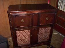 victrola record player cabinet victrola cabinet ebay