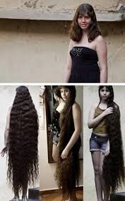 how long does your hair have to be for a comb over fade hairstyle world s most amazing real life rapunzels long hair world record