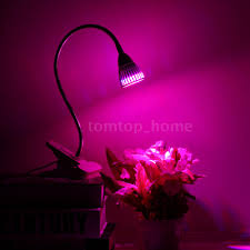 10w 5w led grow light indoor garden plant clip lamp greenhouse