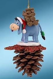 eeyore pine cone ornament from our collection disney