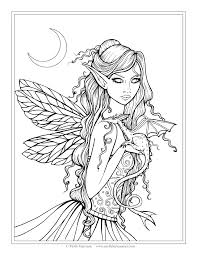 free fairy dragon coloring molly harrison fantasy art