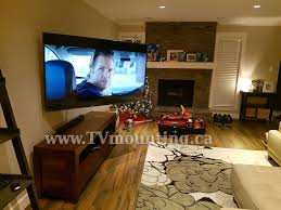 Wall Mounted Tv Height In A Bedroom Tv Wall Mounting Service Vancouver Tv Installation Service