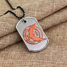 tag chain necklace images Tom clancy 39 s the division collector 39 s edition agent id necklace jpg