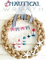nautical rope wreaths completely coastal