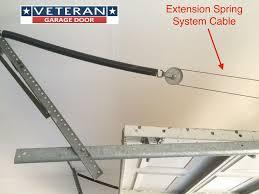 garage door bottom bracket garage door cables for torsion spring system extension