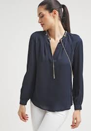 michael kors blouses michael michael kors blouse navy uk store mk121e01h
