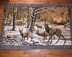 Deer Rug For Nursery Deer Rug Etsy