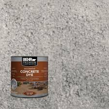 Home Depot Behr Stain by Behr Premium 1 Gal Cd 824 Greystone Concrete Dye 86301 The