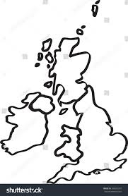 Great Britain World Map by Britain World Map