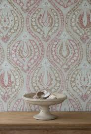 Block Print Wallpaper How To Decorate Your Hallway How To Decorate With Wallpaper