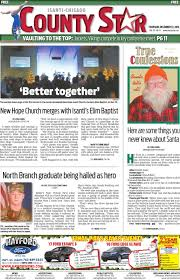 isanti chisago county star december 22 2016 by isanti chisago