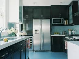 Black Kitchen Cabinet gray kitchen walls with dark cabinets outofhome