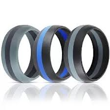 mens rubber wedding bands guangdong oem embossed silicone rubber wedding ring for band