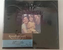 recollections photo album 8x8 scrapbook album etsy
