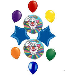 clown balloon l clown themed party balloon decoration kit buy online in oman