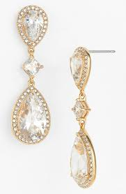 earrings photo cubic zirconia drop earrings engagement wedding and weddings
