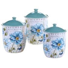 Purple Canister Set Kitchen by Teal Blue Canister Set Blue Kitchen Canister Sets Jcnurbm