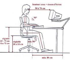 hauteur bureau ergonomie ergonomie bureau avec les meilleures collections d images