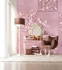 wohnideen kinderzimmer wandgestaltung farbkombination im mädchenzimmer mit rosa und braun einrichten