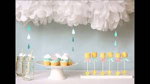 Baby Shower Decor Ideas by Easy Homemade Baby Shower Favors Ideas Youtube