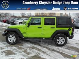 green jeep wrangler unlimited 2013 gecko green pearl jeep wrangler unlimited sport s 4x4