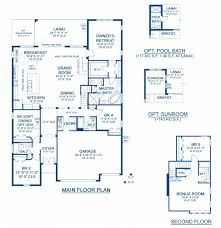biscayne ii a new home floor plan at waterset 70 u0027s by homes by
